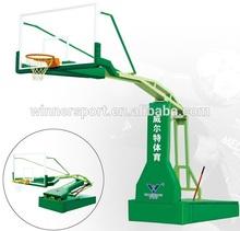 2015 hot sale Manual hydraulic basketball equipment pole