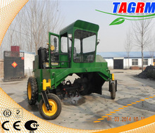 High output and practical household refuse compost turning machine/food waste compost turning equipment M2600II