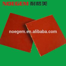 Insulation material bakelite sheet orange red plate carrier for PCB drilling