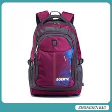 Unisex Fashionable Nylon Backpack School Bag Super School College School Bag for Teens Girls Boys Students