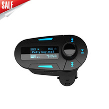 Factory price car mp3 player with wireless fm transmitter