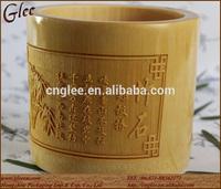 creative stationery of bamboo pen holder