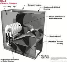 fire -control extraction axial -flow fan/Russian/moscow/fan