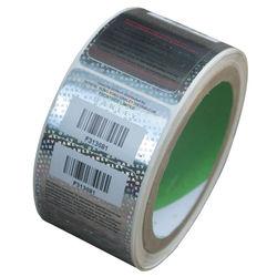 certificate custom transparent hologram stickers