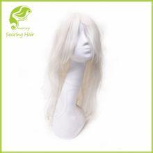 White Human Hair Wig