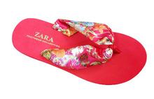 silk nude women eva beach slipper,flip flops