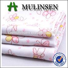 Mulinsen Textile Small Flower Printed Woven 40s Poplin Cotton Fabric Bhiwandi