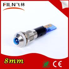 PCB high LED 8mm blue mini led ring light indicator light