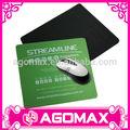 práctica de regalo de la novedad portátil de caucho natural mouse pad