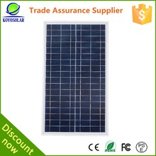 High efficiency 200 watt micro USB Poly crystal silicon solar panel