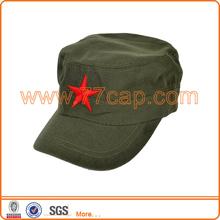 Man Trucker Red Star Baseball Adjustable Military Cap