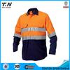 Safety yellow oil field real work wear uniform