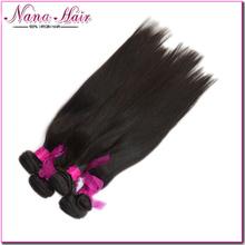 Facotry Price 6A grade straight 100% Virgin hair hair russian silky straight bella dream hair