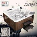 Construido en el led bañera de hidromasaje/de acrílico de lujo bañera de hidromasaje masaje bañera- jy8011