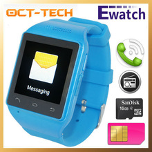 Answer phone calls. Smart watch mobile phone text messages