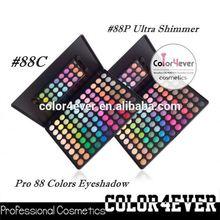 Wholesale 88 colors OEM cheap eyeshadow palette smokey eye makeup