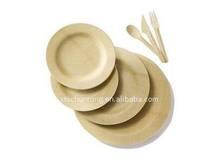 piatto di bambù per merenda