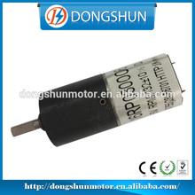 DS-16RP030 16mm variable speed dc gear motor 12v