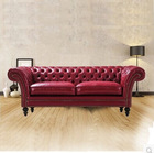 Classic living room furniture italy leather sofa