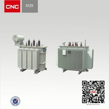 S9 Oil Immersed ei-76 power transformer, Non-excitation Tap-changing Transformer of 35kV and Below