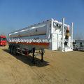 Recipiente cilindro cng, 8 tubos skid CNG reboque CNG tanque