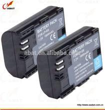 Li-ion camera battery LPE6 LP-E6 for Canon 5D mark III 5D Mark II 7D 60D 6D