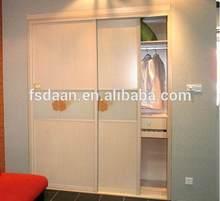 bedroom wooden corner wardrobe wardrobe with double mirror doors