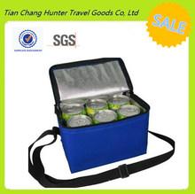 Non woven shoulder cooler bag/Insulated non woven cooler bag/non woven wine bottle cooler bag