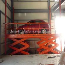 car service station equipment and portable hydraulic scissor car lift