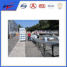 belt conveor steel skate wheel conveyor price