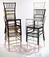 Silla Tiffany Resin Chiavari Chairs