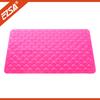 PVC Bath Mat Customized design and size washable acrylic bath mat