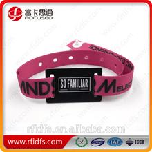 Popular elastic fabric bracelet/handmade fabric bracelet for events