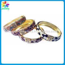 Gold Bangle Set Sea Design Pattern Sweety Girls Engraved Logo Plating High Quality Bracelet Bangle Set