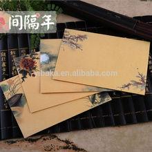 B6 papierumschlag pflaumenblüte design, traditionellen Stil zarten umschlag dekoration handwerk fe300133