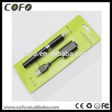 2014 e cigarette most popular evod vaporizer pen evod blister smoking e-cigarette display