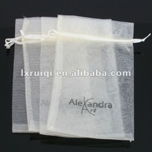 wedding favor bags with silk rope