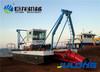 High production river dredging ship