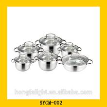 vendita calda in acciaio inox 12 pz rena ware pentole