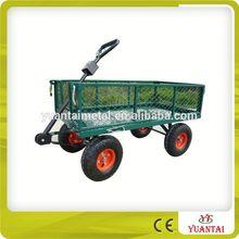 Metal Garden Cart With Four Wheels TC1840