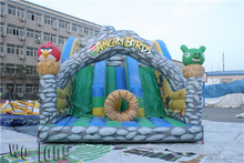 family sport game inflatable sports slide on beach