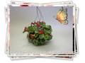 دمية مصغرة مقياس 1/12 الطين الاصطناعي الزهور مصوغة بطريقة