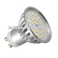 230V 2835 smd 5W GU10 Led Light spot replace halogen spot lamp 50W energy saving lamp