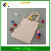 promotional fashion jute cotton tote bag for shopping