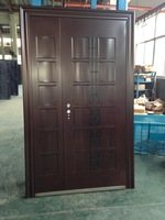 One And Half Door-Leaf Steel Door With Real Photo Hot Sale In Iran-SC-40-1