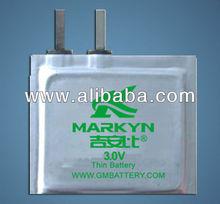 CP(Li/Mn2) 3.0V Soft Lithium Battery