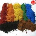 أكسيد الحديد الأسعار/ سعر المصنع/ مسحوق أحمر/ الأسود/ الأصفر/ مسحوق أخضر