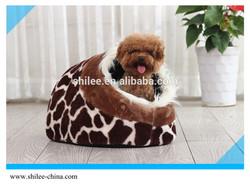 Factory Price Shoe-Shaped Fleece Pet House