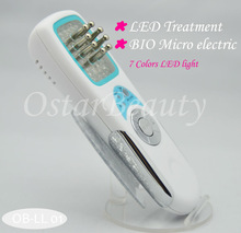 (CE Proof) Face Tightening Skin Care LED Light with Microcurrent PDT LL 01