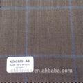 Para hombre trajes a medida a medida con alta calidad de lana 160 s tela código C5001-A6